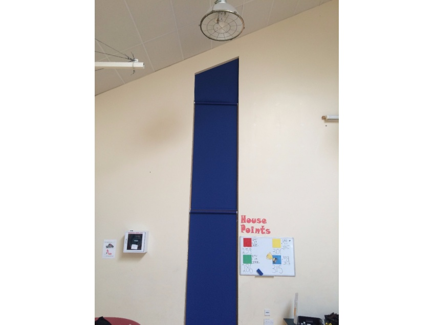 Blinds Gallery 3 - Solution for an awkward window at Peatmoor Community Primary school, Swindon march 2016