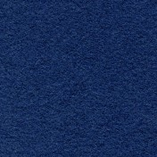 Wool Serge Melton - Ocean Blue