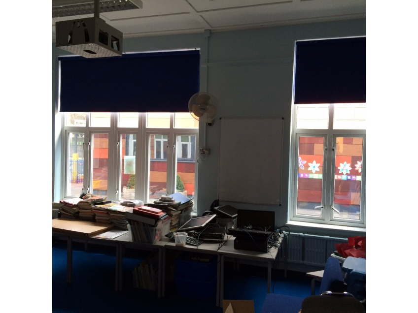 Blinds Gallery 2 - Southwood Primary school, Dagenham, Essex fitted August 2015