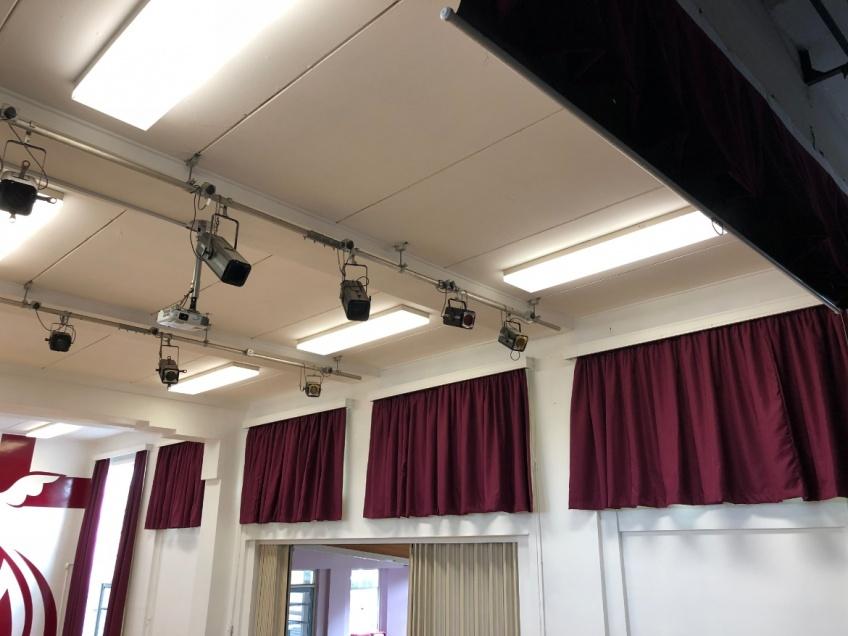 School Hall & Stage Curtains - Nuneaton -