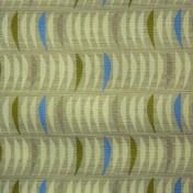 Printed Curtains - Salsa  Flax
