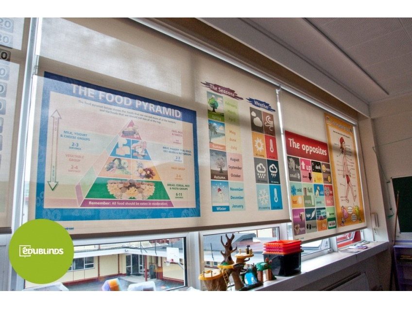 Educational Blinds for School Classrooms - Educational Blinds for the Education Sector