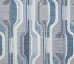 Printed Curtains - Balance Jade/Slate