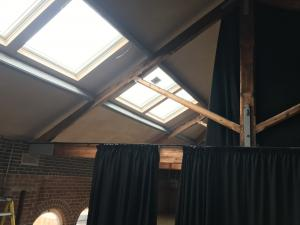 Fitness Studio Curtains - Sheffield