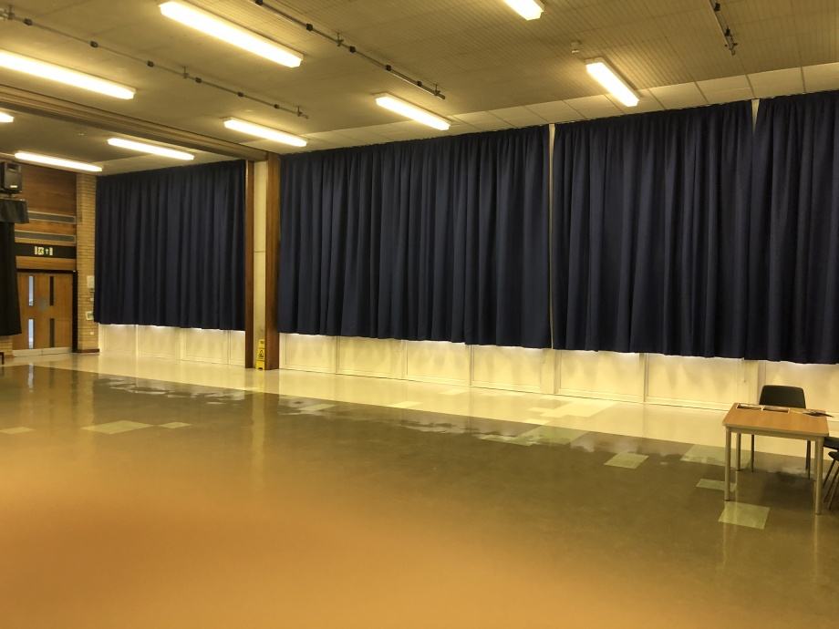 School Hall Curtains - Doncaster->title 1