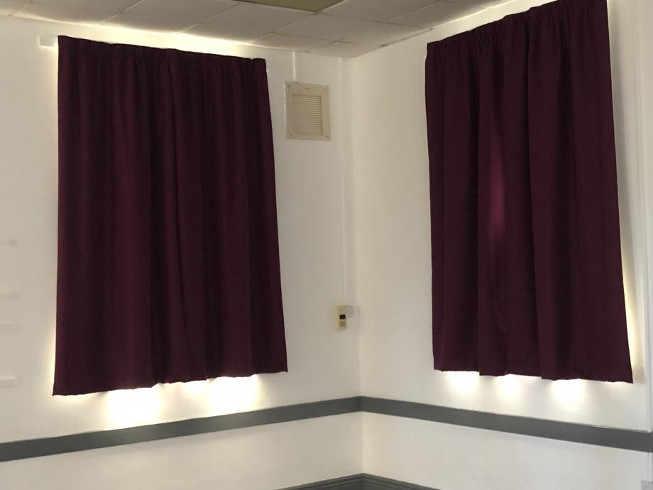 Church Hall Curtains - Sheffield->title 1