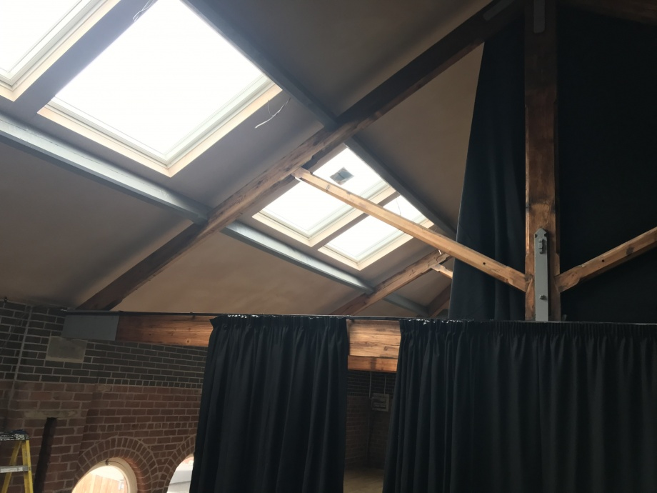 Fitness Studio Curtains - Sheffield->title 1