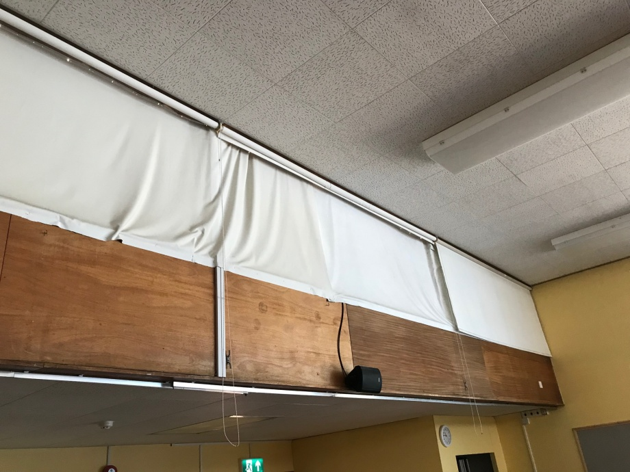 School Hall Curtains - Ely->title 3