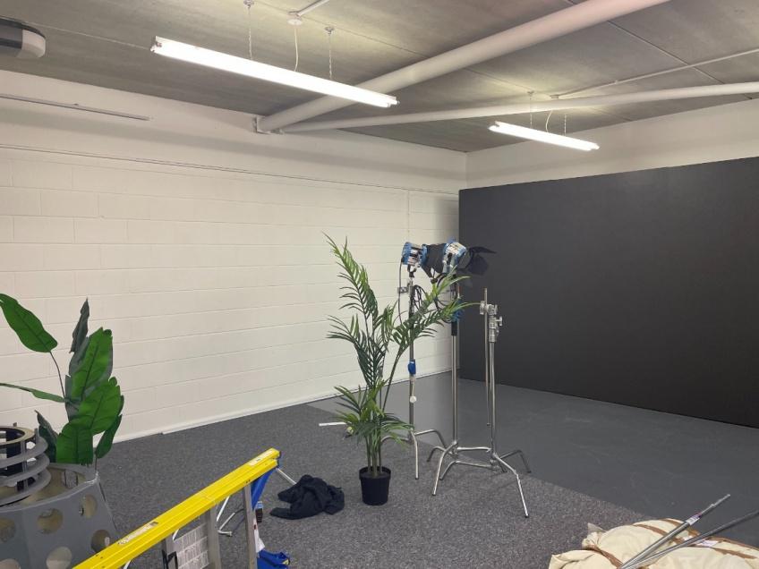 Film Studio Curtains - Swindon - Before