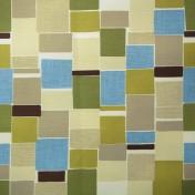 Printed Curtains - Jitterbug Lime Flax