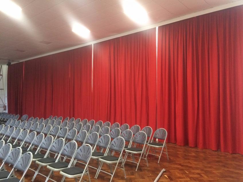 Curtains Gallery 3 - Mangotsfield school, Bristol, Sept 2015