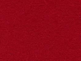 Wool Serge Melton - Crimson