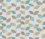 Printed Curtains - Zenith Azure