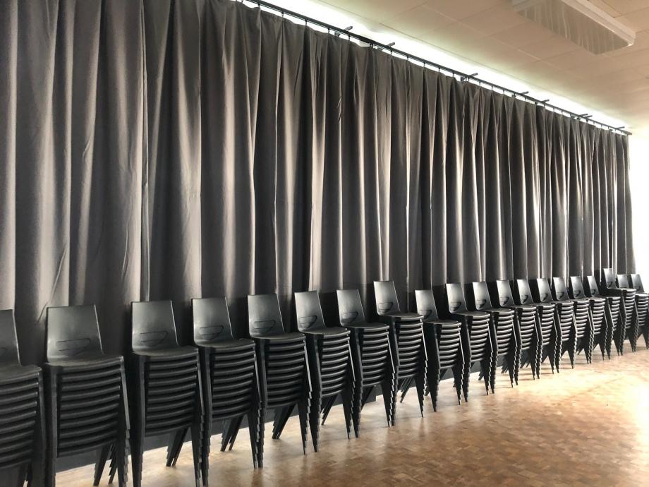 Hall Curtains - Ashington, Northumberland->title 1