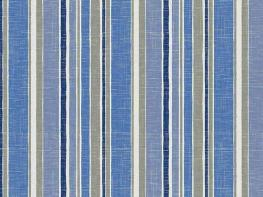 Printed Curtains - Solstice Cobalt