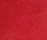 Phoenix Velvet Curtains - Brick Red
