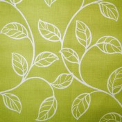 Printed Curtains - Swing  Lime