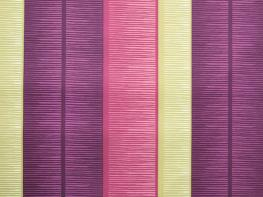 Printed Curtains - Tango Stripe Mulberry Linen