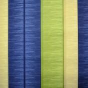 Printed Curtains - Tango Stripe Blue Green