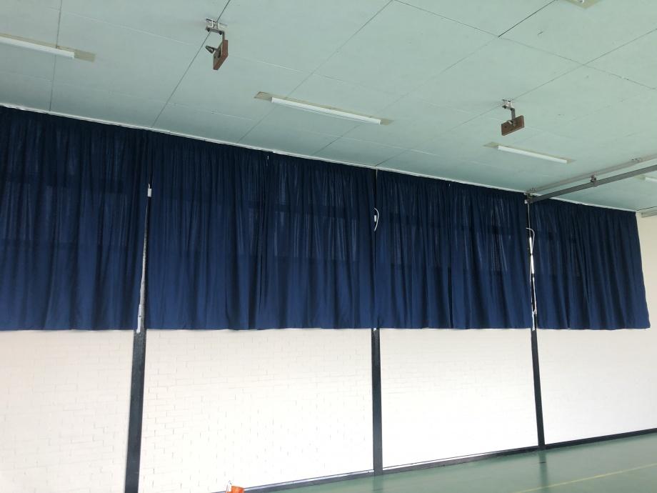 School Hall & Gym Curtains - Amersham->title 1