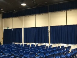 Replacement Fire Retardant Curtains for H&S Inspection!