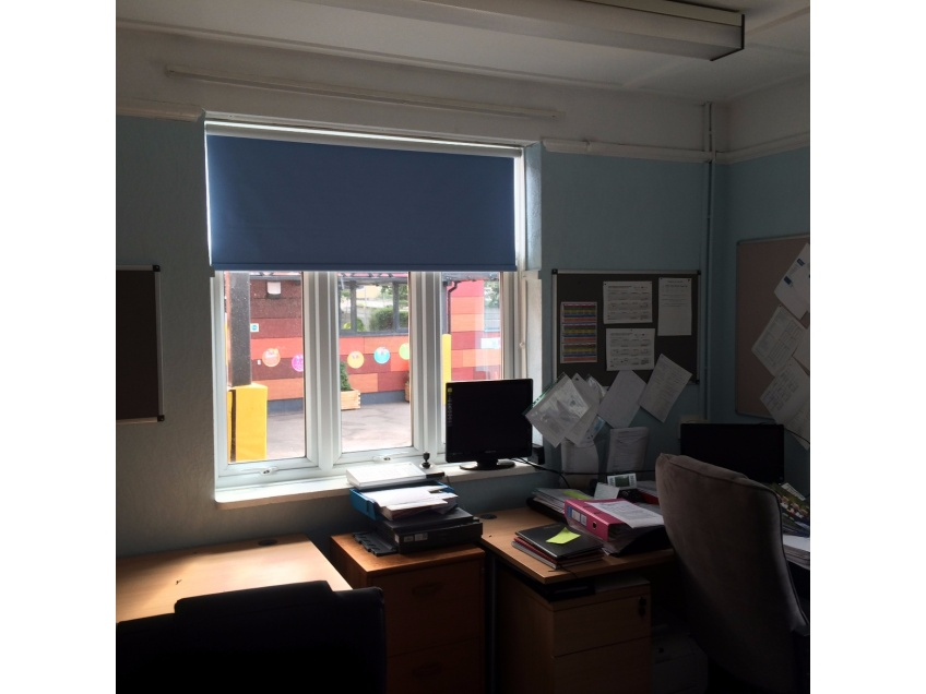 Blinds Gallery 1 - Southwood Primary school, Dagenham, Essex fitted August 2015