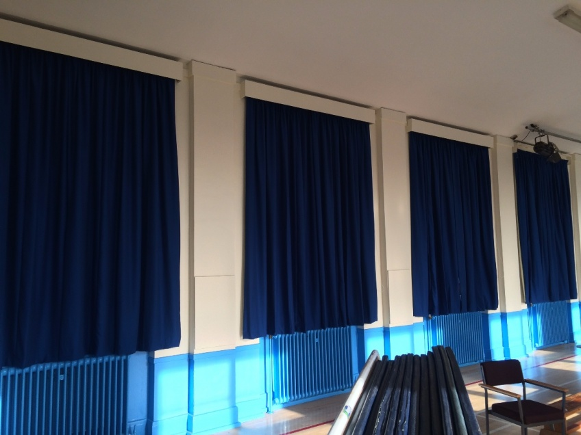 Curtains Gallery 1 - Willow Tree Primary school, Harrogate, Sept  2015