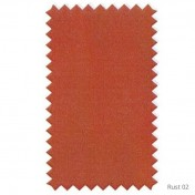 Venetian Dimout curtains - Rust