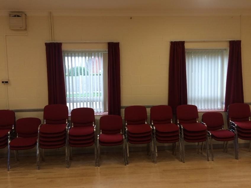 Curtains Gallery 3 - Clarborough Village Hall, Retford February 2016