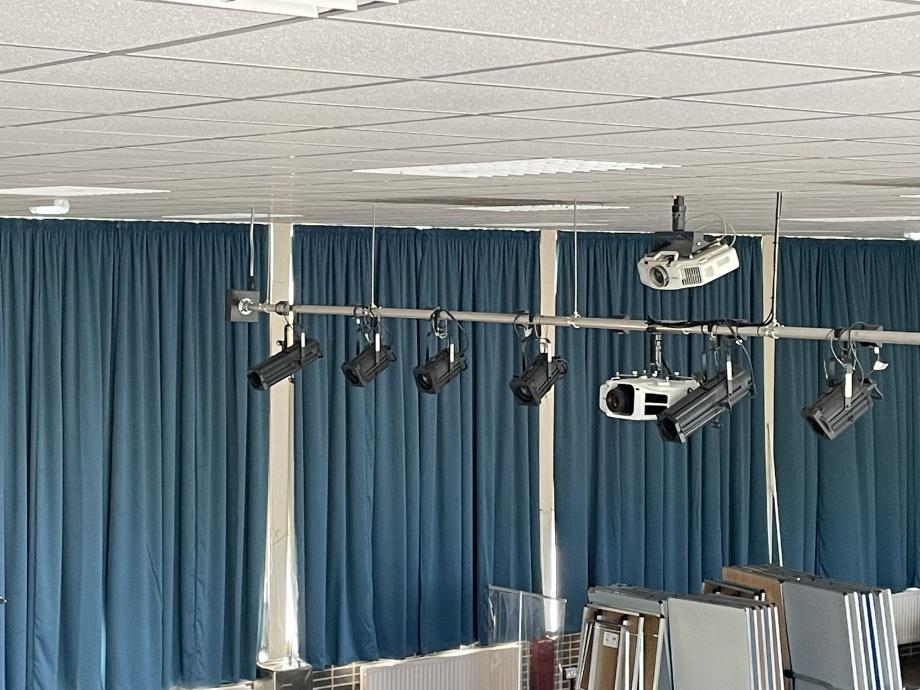 School Hall & Stage Curtains - Birmingham->title 1