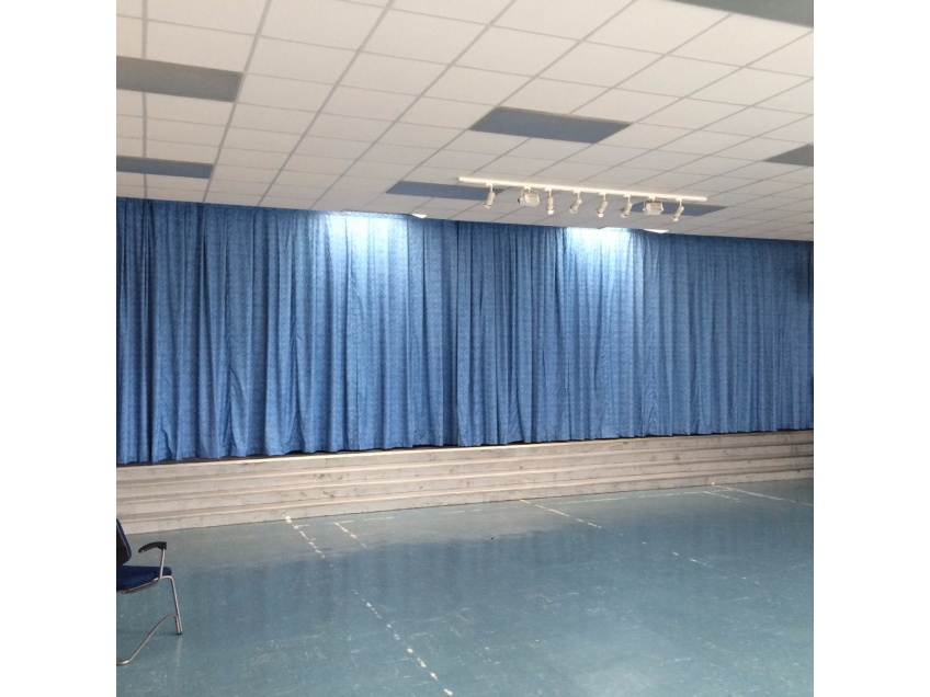 Flame Retardant Curtains for Schools Colleges Education -