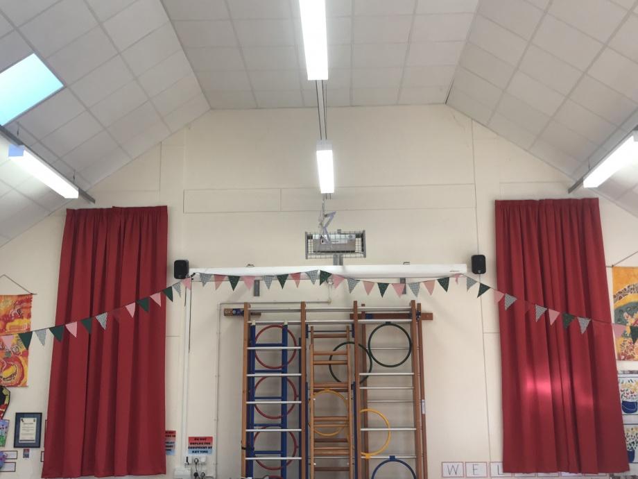 School Hall Curtains - Braintree->title 1