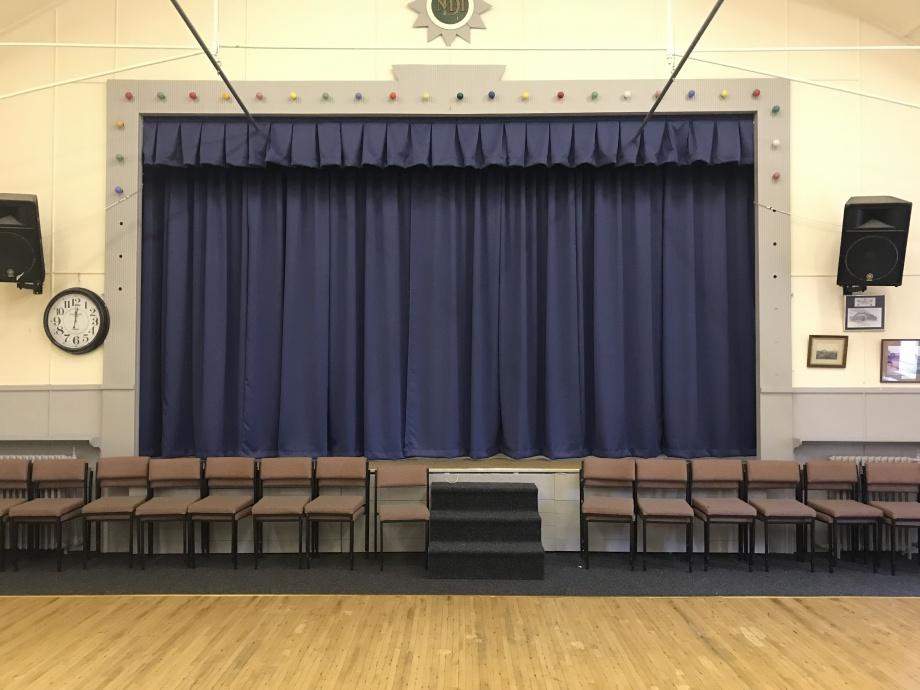 Village Hall Stage Curtains - Harrogate->title 1
