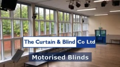 Motorised Blinds for School Hall