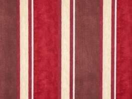 Printed Curtains - Midsummer Damson Oatmeal