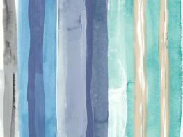 Printed Curtains - Galleries Carnival Blueberry
