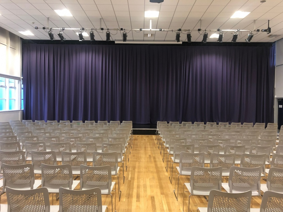 School Hall Curtains - Deneholm->title 1