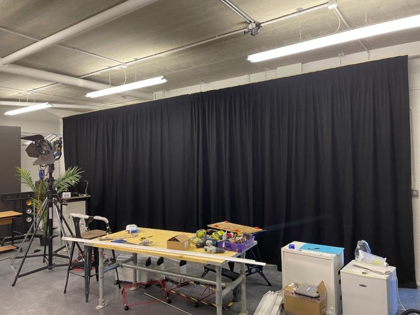 Film Studio Curtains - Swindon -