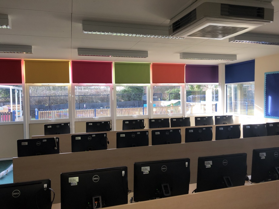 Computing Suite Blinds - Waltham Cross->title 1