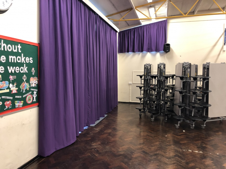 Junior School Hall Curtains - Romford->title 1