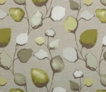 Printed Curtains - Eden  Olive Stone