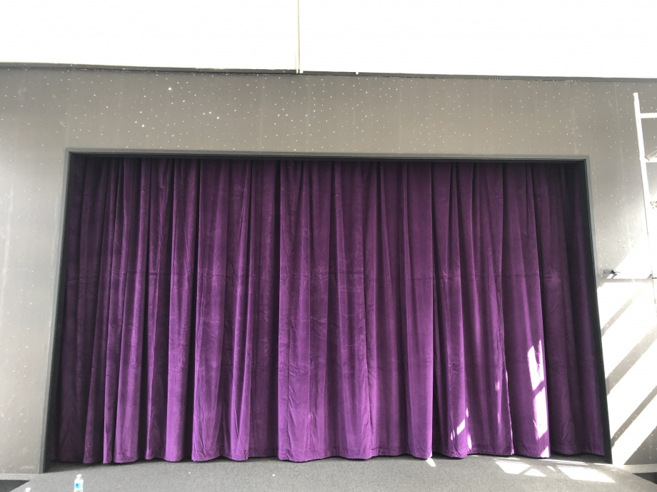 Primary School Stage Curtains - Leeds->title 1