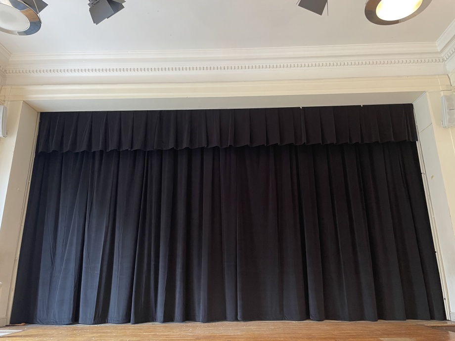 School Stage Curtains - London->title 2