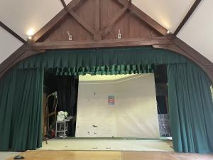 Hall Stage Curtains - Chipping Norton