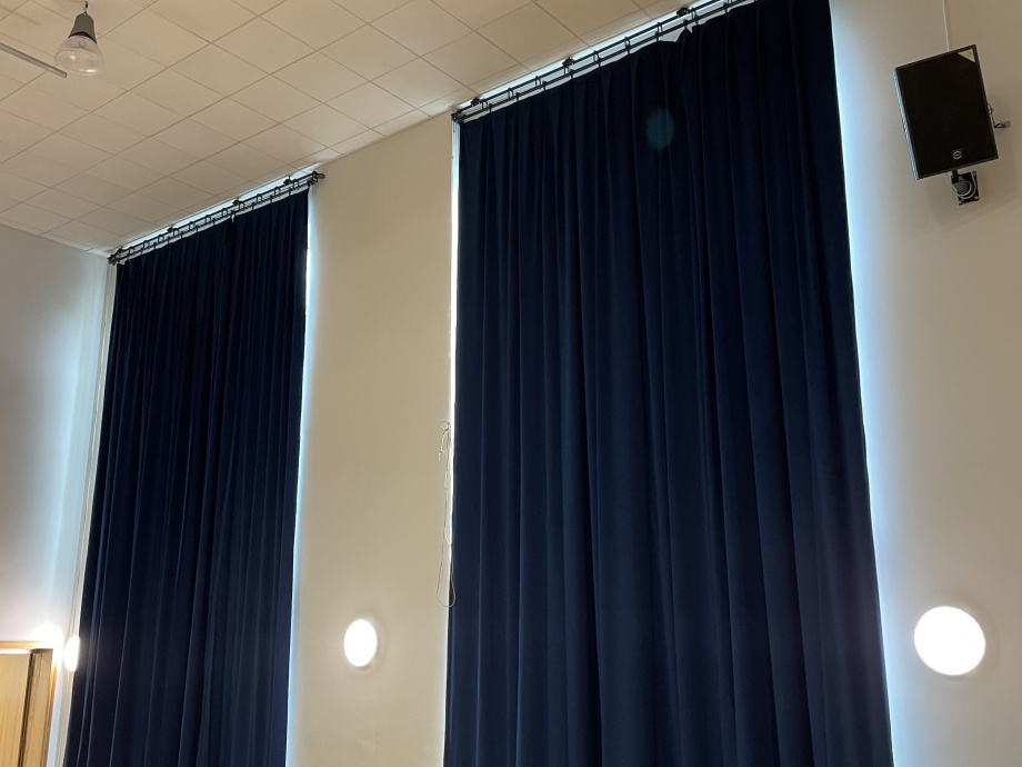 Blackout Hall Curtains - Sheffield->title 1