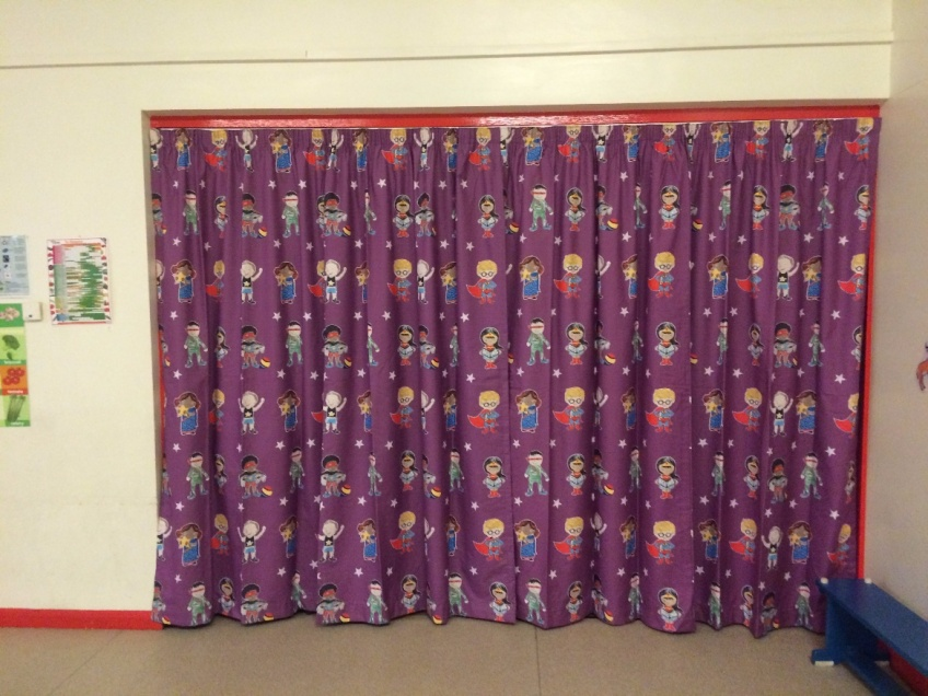 Curtains Gallery 4 - Annfield Plain Infant school, County Durham, May 2016