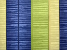Printed Curtains - Tango Stripe Blue Green