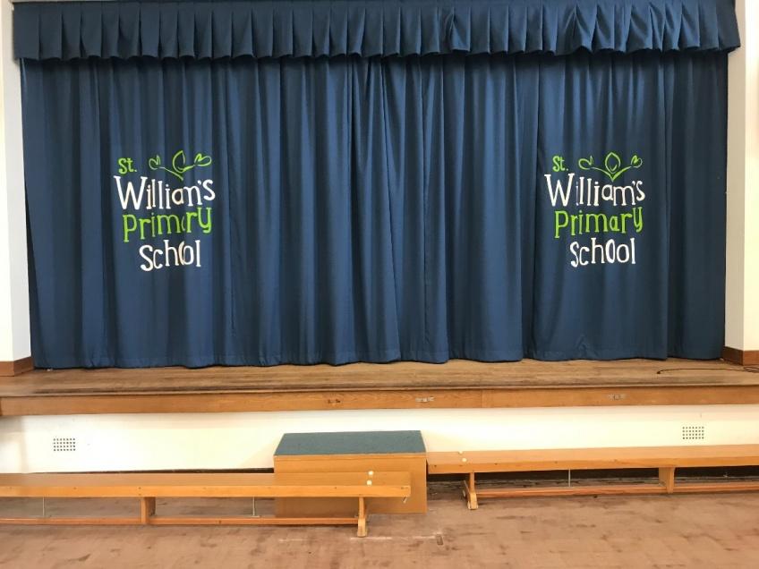 Recent School Curtain Installations - May 18 -