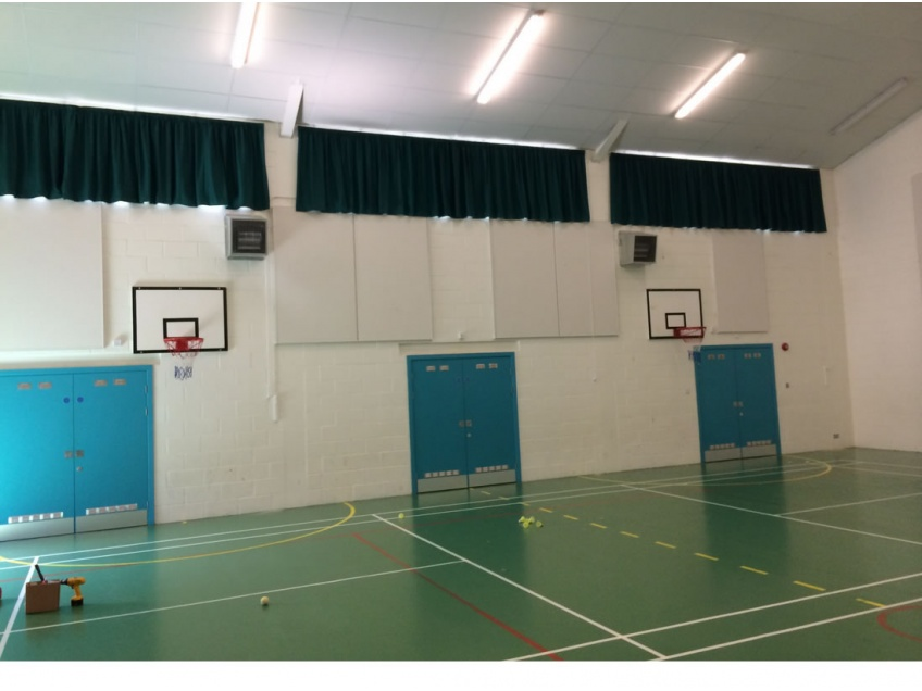 Curtains Gallery 1 - Barcombe Primary school, July 2014