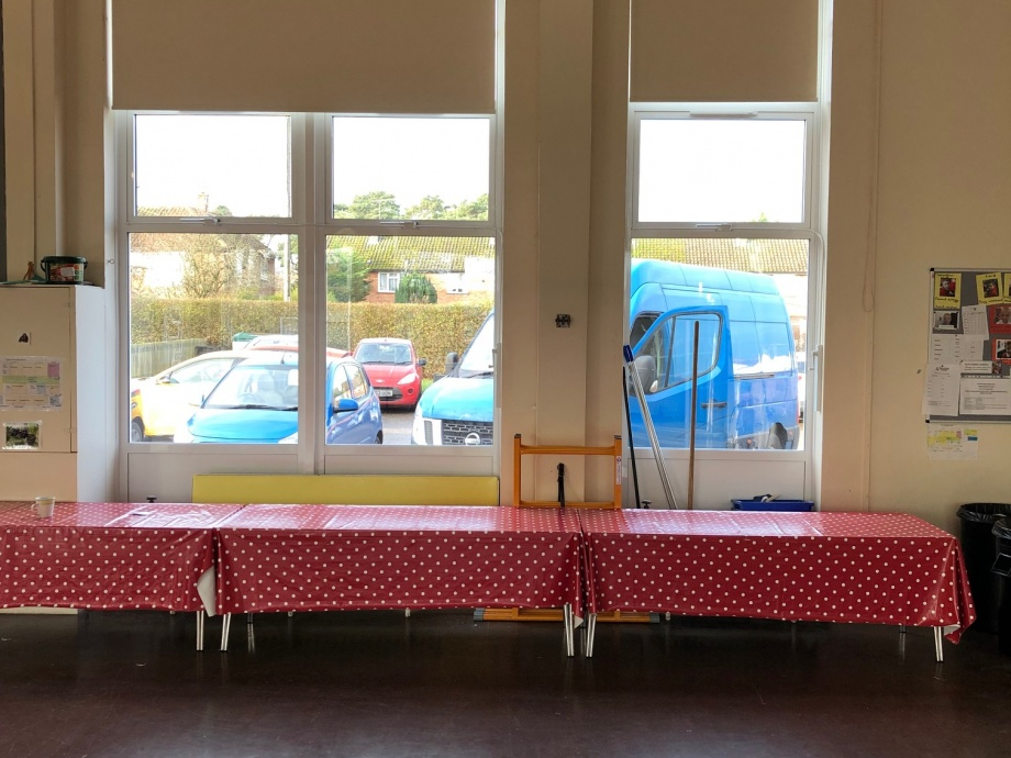 Infant School Hall Blinds - Thetford->title 1